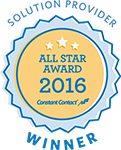 Constant Contact All Star Email Marketing Award